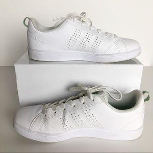 White Adidas Neo. 5.